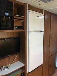Campingvogn køleskab