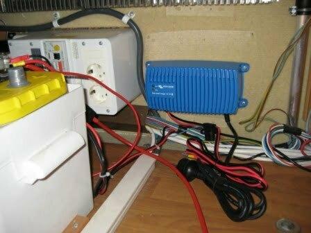Victron Blue Smart IP67 batterilader i campingvogn